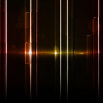 Neonowy abstrakt