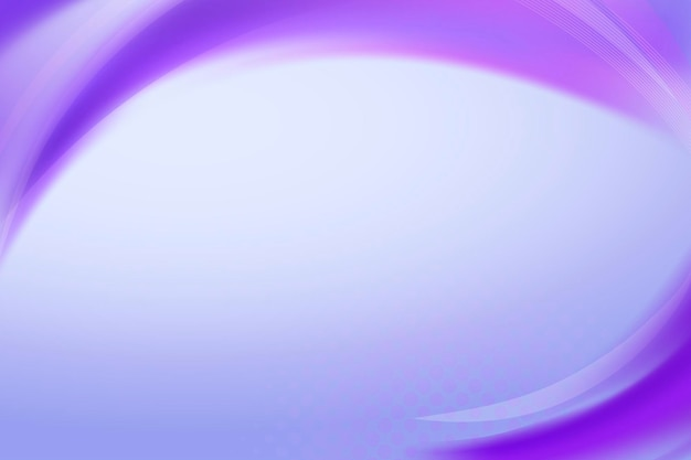 Neonowy fioletowy wektor szablonu ramki krzywej