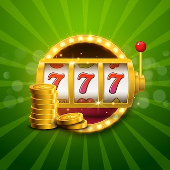 Neonowy jackpot w kasynie na automatach