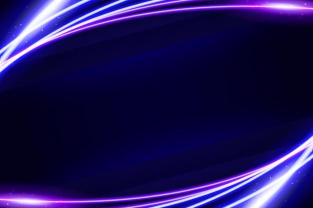 Neonowy projekt tła