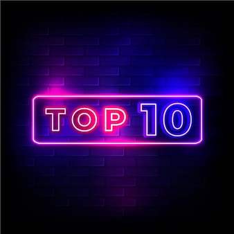 Neonowy top 10