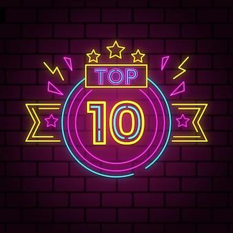 Neony 10 najlepszych koncepcji