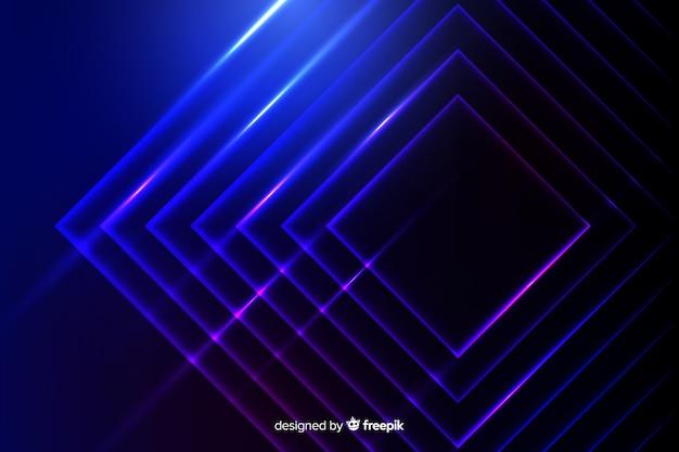 Neony świateł technologii tło