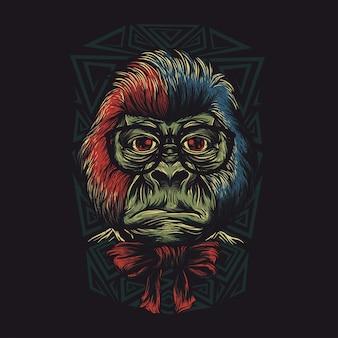 Nerd monkey