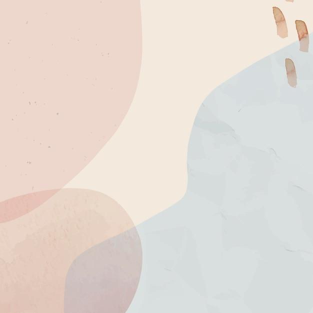 Neutralne miękkie abstrakcyjne tło akwarela