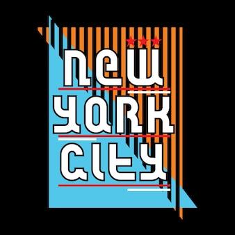 New york t shirt printing art