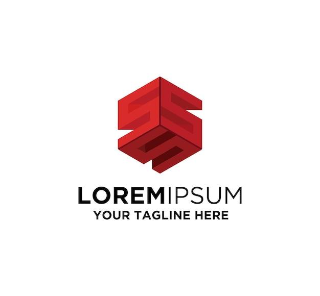 Nft Token Litera S Logo Premium Wektorów