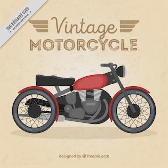 Nicea rocznika tle motocykl