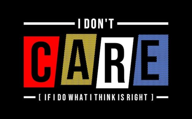 Nie obchodzi mnie typografia