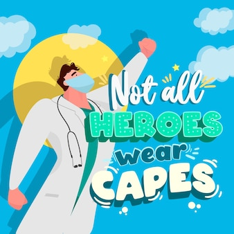Nie wszyscy bohaterowie noszą peleryny