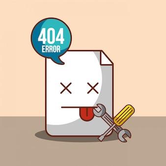 Nie znaleziono strony błędu 404