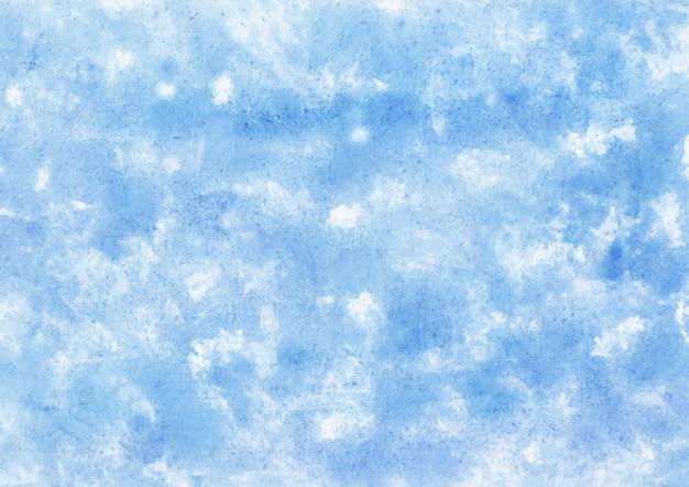 Niebieska faktura z farbą akwarelową