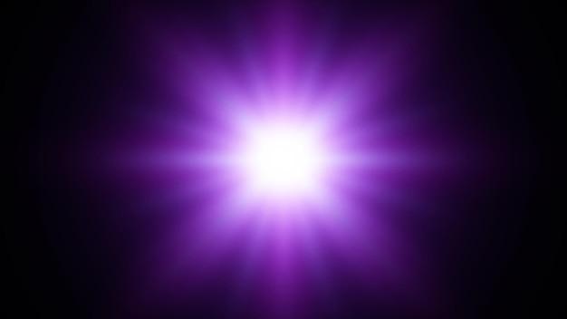 Niebieska gwiazda. niebieskie tło wybuchu z promieniami. ilustracja wektorowa absrtact eps10