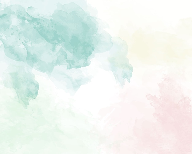 Niebieska miękka akwarela streszczenie tekstura.