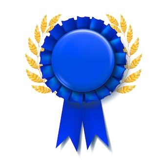 Niebieska wstążka award
