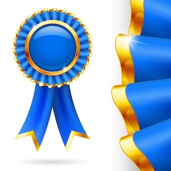 Niebieska wstążka nagrody