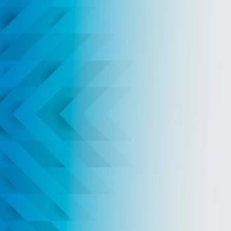 Niebieski 3d nowoczesny wzór tła