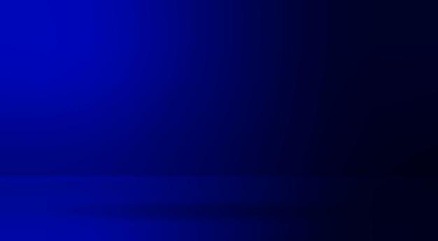Niebieski abstrakcyjny szablon transparentu gradientowego