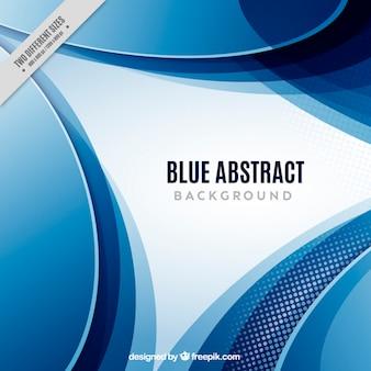 Niebieski abstrakcyjny wektor do pobrania za darmo