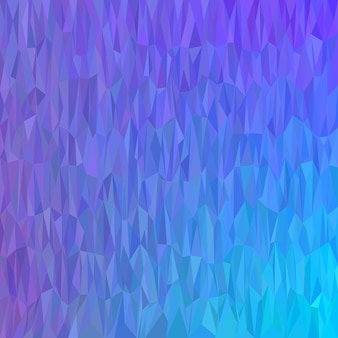Niebieski geometryczny streszczenie chaotyczny wzór trójk? t tle - mozaiki wektora projektowania