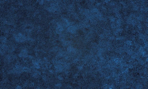 Niebieski grunge półtonów szczegółowe tekstury tła