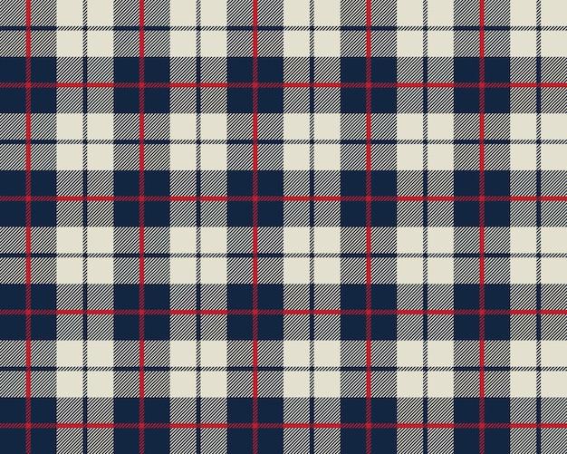 Niebieski i beżowy wzór tekstury tkaniny bez szwu