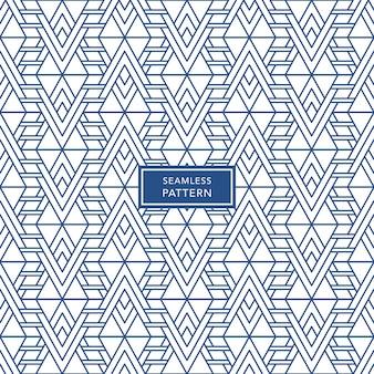 Niebieski i biały bezszwowe tło wzór geometryczny. ilustracja wektorowa.