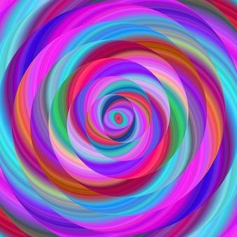 Niebieski i fioletowy backgorund spirali