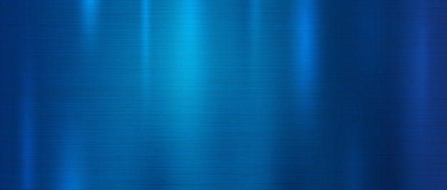 Niebieski metal tekstury tła