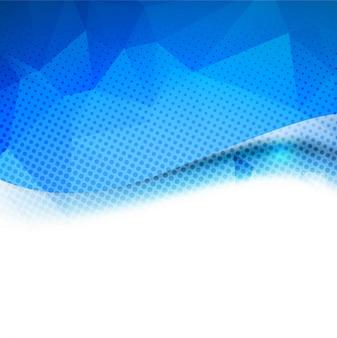Niebieski nowoczesny tle
