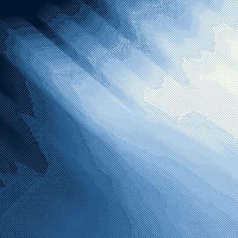 Niebieski półtonów tekstury