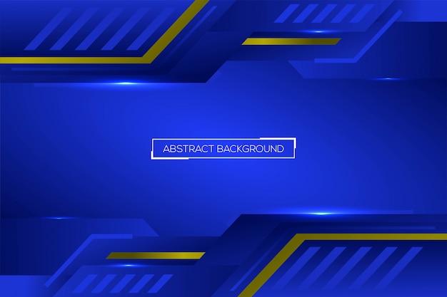 Niebieski projekt tła technologii