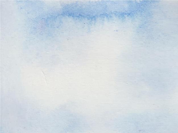 Niebieski ręcznie malowane akwarela tekstury streszczenie tło akwarela.