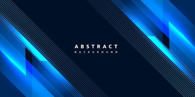 Niebieski streszczenie dynamiczne, nowoczesne, żywe gradientu paski tekstury