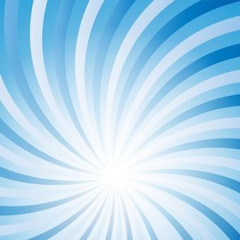 Niebieski streszczenie ð hipnotyczna ilustracja wektorowa tła