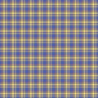 Niebieski wzór sprawdź tartan