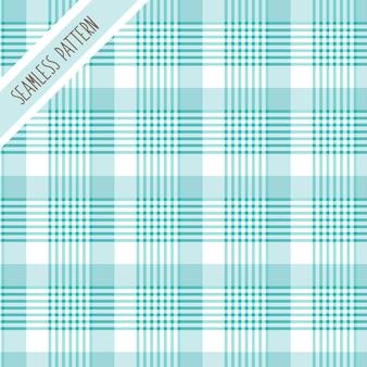 Niebieski wzór w kratę