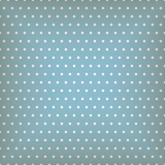 Niebieski wzór z kropkami