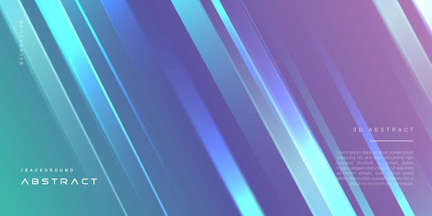 Niebieskie eleganckie geometryczne nowoczesne tło