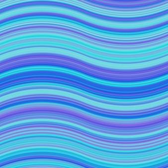Niebieskie faliste psychodeliczny tła