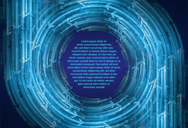 Niebieskie kółko strzałka streszczenie tekstu