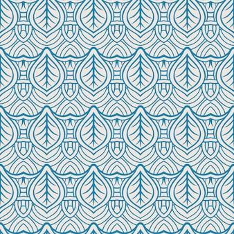 Niebieskie liście