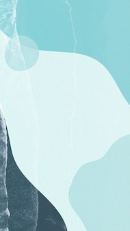 Niebieskie odcienie prostego wektora tapety mobilnej memphis