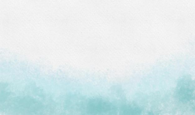 Niebieskie odcienie tła akwarela