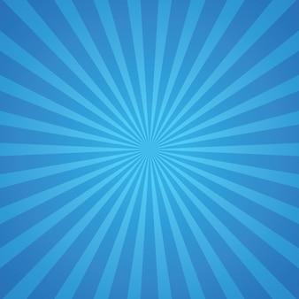 Niebieskie promienie tła
