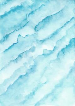 Niebieskie tło abstrakcyjne tekstury z akwarelą