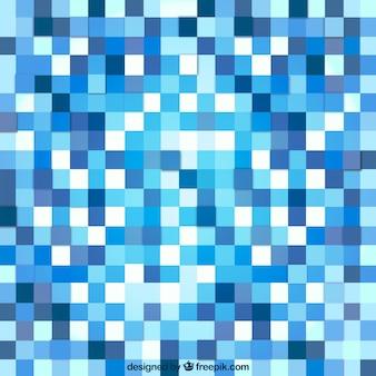 Niebieskie tło abstrakcyjne z kwadratów