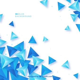 Niebieskie Tło Abstrakcyjne Premium Wektorów