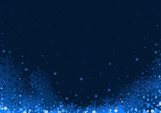 Niebieskie tło boże narodzenie