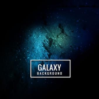 Niebieskie tło galaktyka